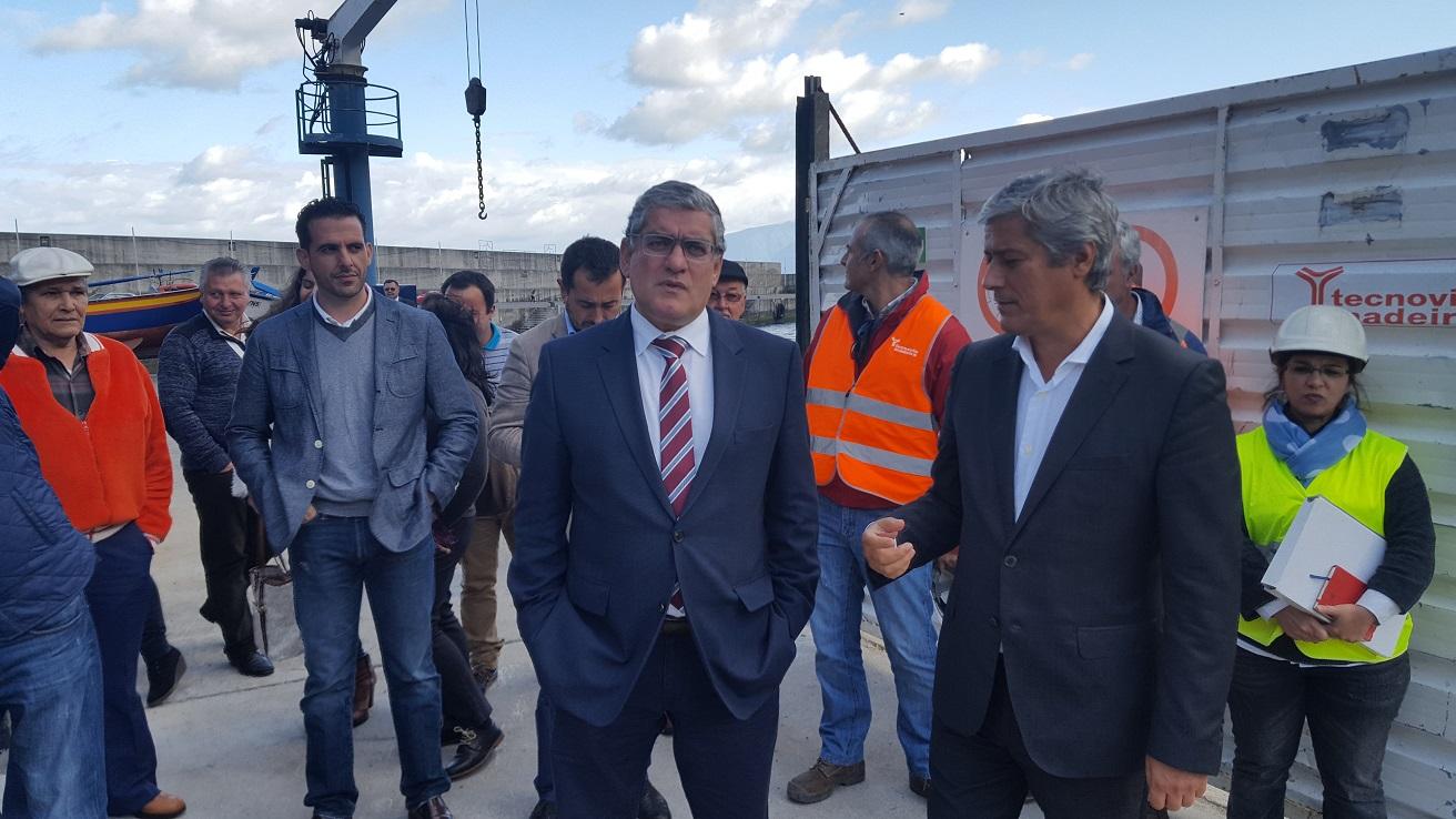 Posto de Recepção de Pescado do Porto Moniz pronto no primeiro trimestre de 2017
