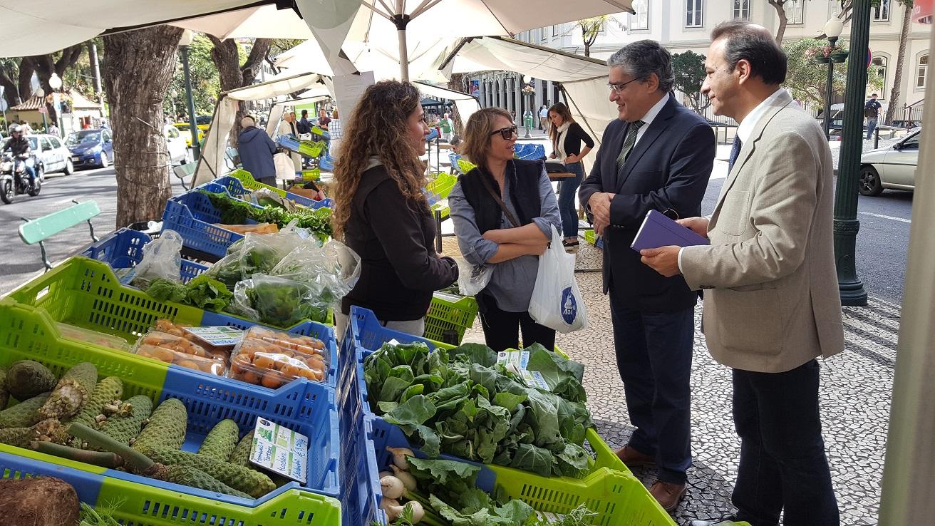 Mercado de Agricultura Biológica conta com mais um expositor
