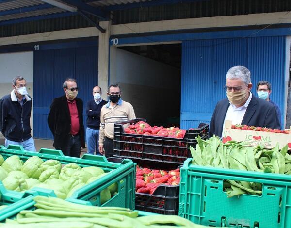 Humberto Vasconcelos valoriza produtos agrícolas de Câmara de Lobos