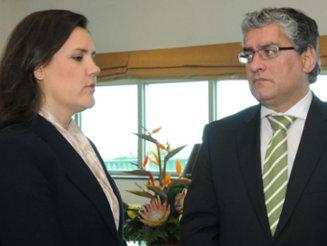 Humberto Vasconcelos reencontra Ministra da Agricultura no I Congresso Nacional dos Jovens Agricultores